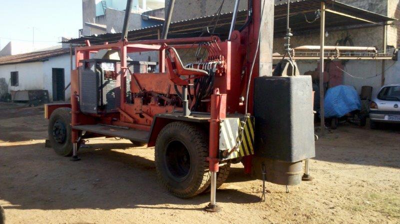 Cravação de estacas de concreto